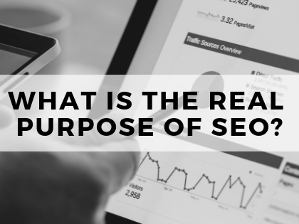 purpose of SEO